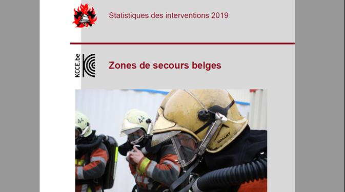Statistiques d'intervention des zones de secours