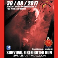 Survival Firefighter Run Walloon Brabant 2017